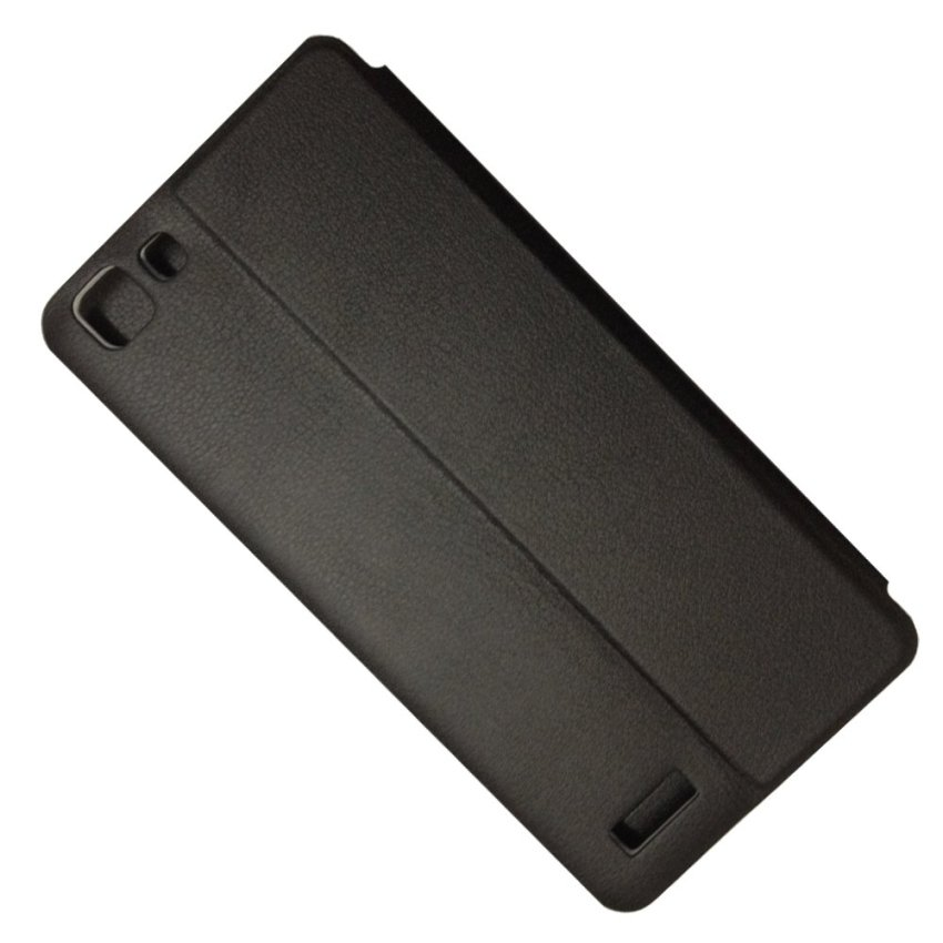 Fashion Case Sarung Flipshell for Kuyou Vivo Y35 Hitam