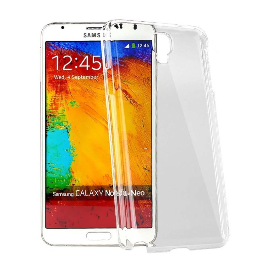 Fashion Case Ultrathin for Samsung Note 3 Neo - Clear