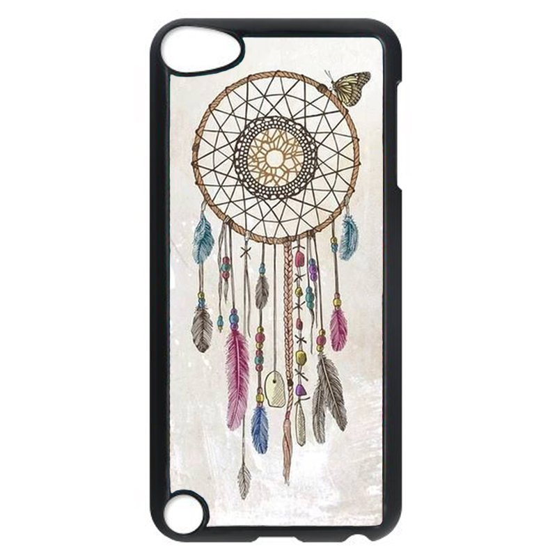 Fashion Dream Catcher Phone Case for iPod Touch 5 (Black)