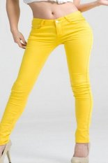 Fashion Women Ladies Casual Pencil Skinny Leg Slim Pants Stretchy Jeans