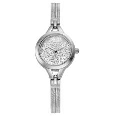 Fehiba Genuine KIMIO Quartz Watch Korean Fashion Trend Of Refined Beauty Hot Table KW532S (Silver)