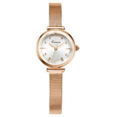 Fehiba KIMIO Fashion Trend Hot Fashion Watch Casual Watch Quartz Watch Fashion Female Form Female Models 6110 (Gold)