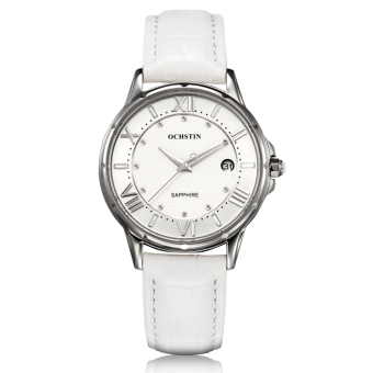 Fehiba Switzerland Ochstin Genuine New High-grade Steel Female Form Really Belt Fashion Quartz Watch Waterproof Female Models (Silver)