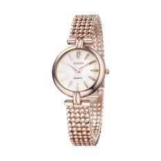 Fehiba YAQIN Yaqin Female Watch 6210 Fashion Watch Female Models Bracelet Watch Fashion Ladies Watches (Gold)