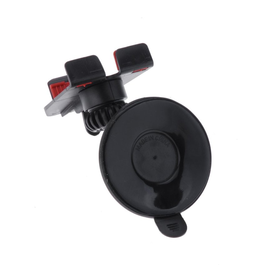 FIRSTSELLER Universal 360°Rotating In-Car Holder Mount for Mobile Phone MP4 PDA GPS (Black)