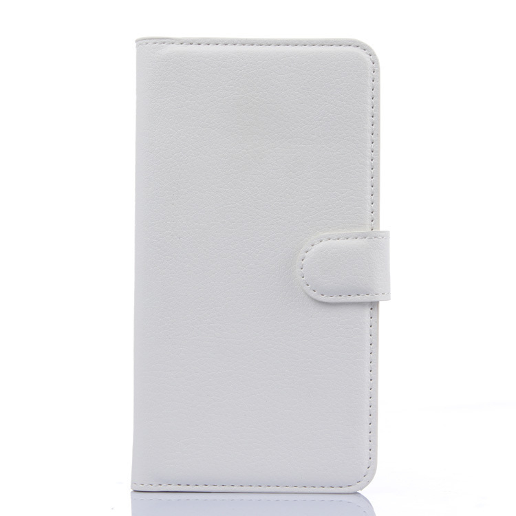 Flip Leather Cover for Meizu M1 Note (White) (Intl)