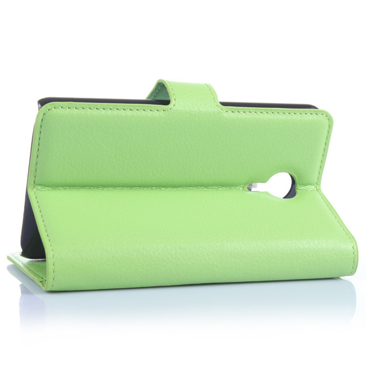 Flip Leather Cover for Meizu MX4 (Green) (Intl)