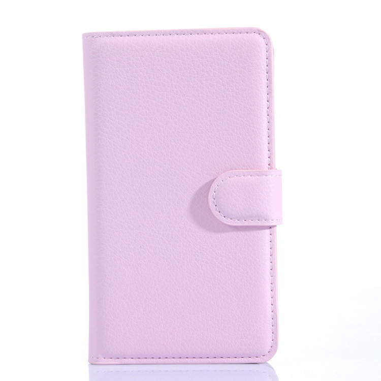 Flip Leather Cover for Meizu MX4 (Pink) (Intl)