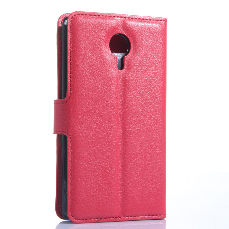 Flip Leather Cover for Meizu MX4 (Red) (Intl)