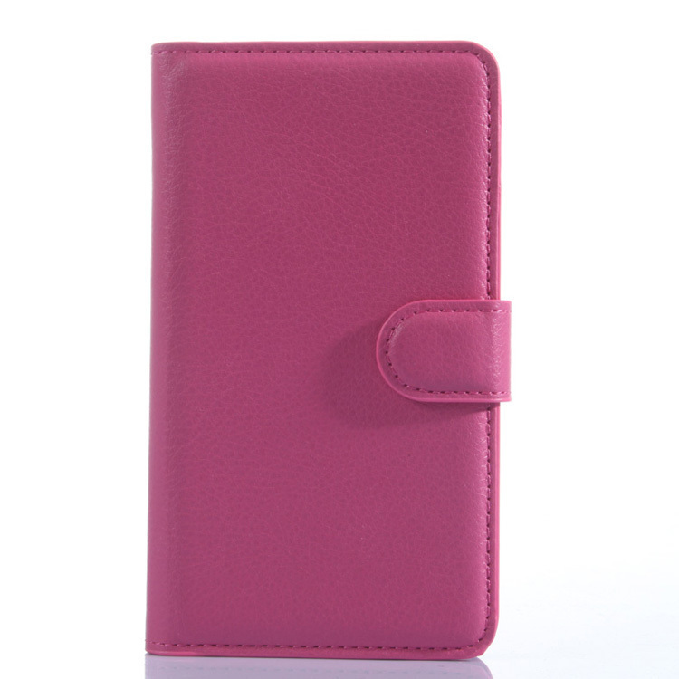 Flip Leather Cover for Meizu MX4 (Rose Red) (Intl)