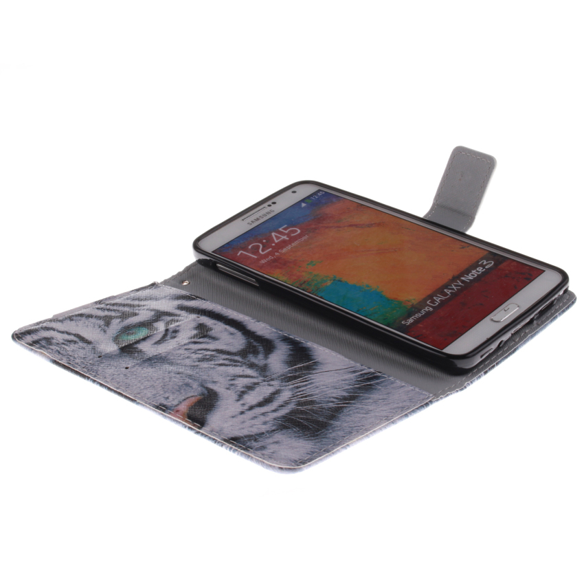Flip Leather Cover for Samsung Galaxy Note 3 (Multicolor) (Intl)