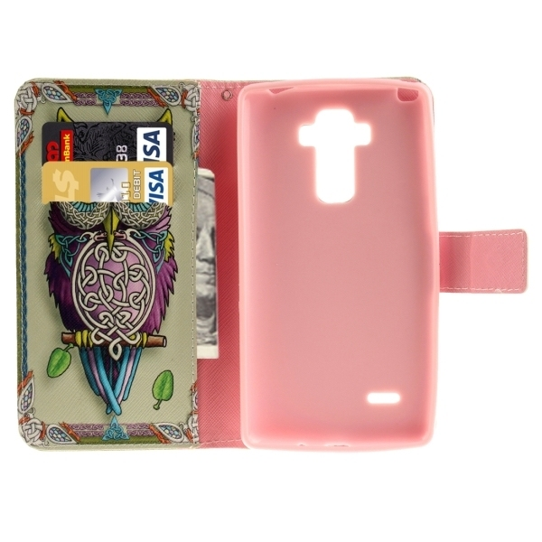 Flip Leather Cover with Holder & Card Slots & Wallet for LG G4 Stylus / LS770 (Multicolor) (Intl)
