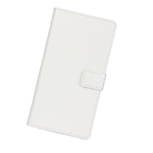 Flip Protective Crazy Horse Stripe Purse Holster Cover for Xiaomi 3 (White)