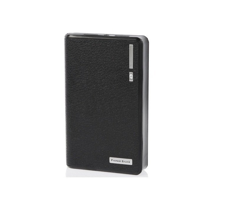 Flux Powerbank Mini Wallet 12000 mAh - Hitam