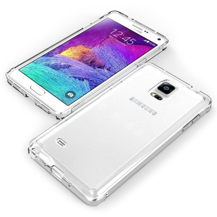 Fonel Crystal Soft Case For Galaxy Note 4 - Clear