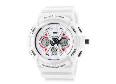 Foorvof SKMEI Outdoor Quartz Digital LED Display Wrist Watch (White)