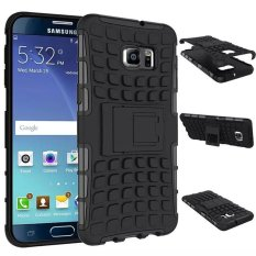For LG Optimus G3 D855 D850 Heavy Duty Denfender Impact Hybrid Armor Hard Case With Kick-Stand (Black)