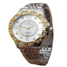 Fortuner Jam Tangan Wanita - Silver - Strap Stainless Steel - FR K8107 SRG
