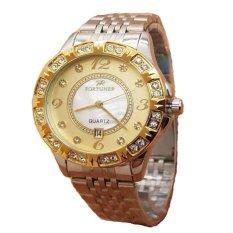 Fortuner Jam Tangan Wanita - Stainless Steel - FR 1329 Gold