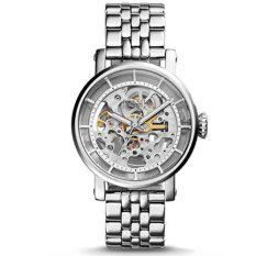 Fossil Jam Tangan Wanita - Fossil ME3067 - Original Boyfriend Automatic - Stainless Steel - Silver