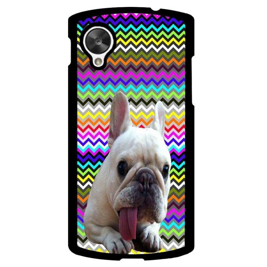 French Bulldog Pattern Phone Case for LG Nexus 5 (Multicolor)