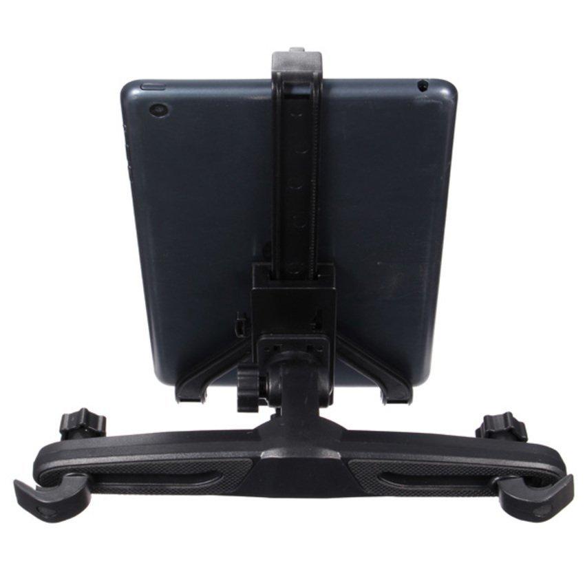 FSH 360 Seat Headrest Mount Holder Cradle Stand For Tablet PC PDA GPS Black (Intl)