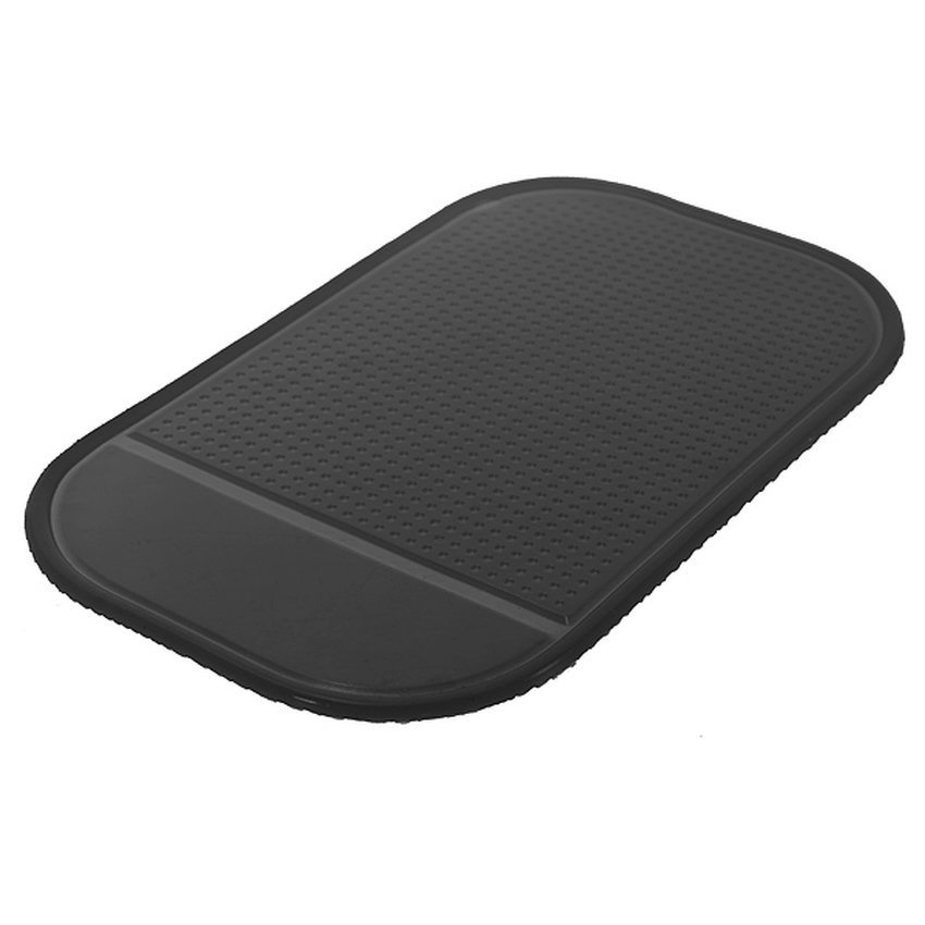 FSH Car Dashboard Magic Anti-Slip Sticky Pad Mat Key Cellphone Holder (Black) (Intl)