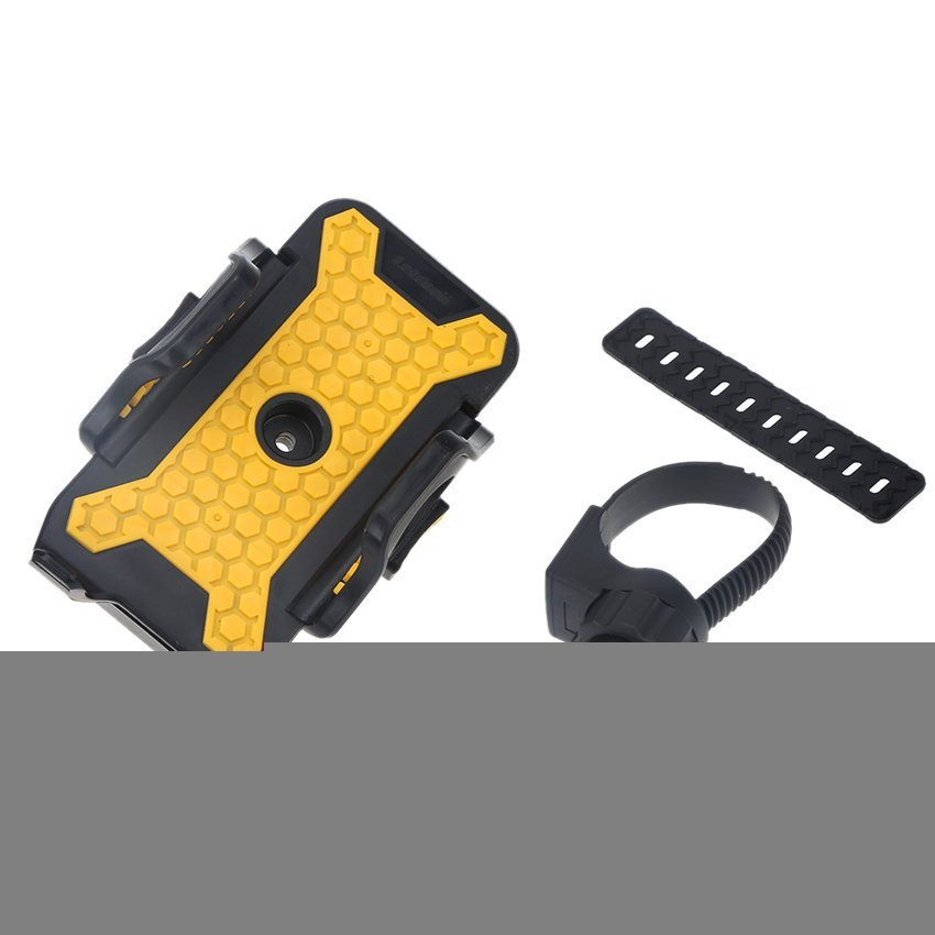 FSH Universal Bicycle Phone Holder for Cellphone (Yellow)  (Intl)
