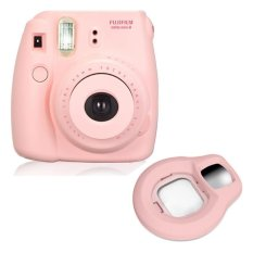Fujifilm Fuji Instax Mini 8 Instant Photo Film Camera (Pink) + Close-up Lens - Intl