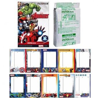 Fujifilm Instax Mini Avengers Instant 10 Film For Fuji 7.8 2.50s 7.90 / Polaroid 300 Instant Camera / Share SP-1