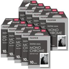 Fujifilm Instax Mini Instant 100 Film Monochrome For 7.8 2.50.70 90 / Polaroid 300 / SHARE SP-1,2 & Sofort