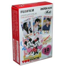 Fujifilm Instax Mini Mickey Mouse Instant 10 Film For Fuji 7.8 25 50.70 90 / Polaroid 300 Instant Camera / Share SP-1 Printer (Intl)