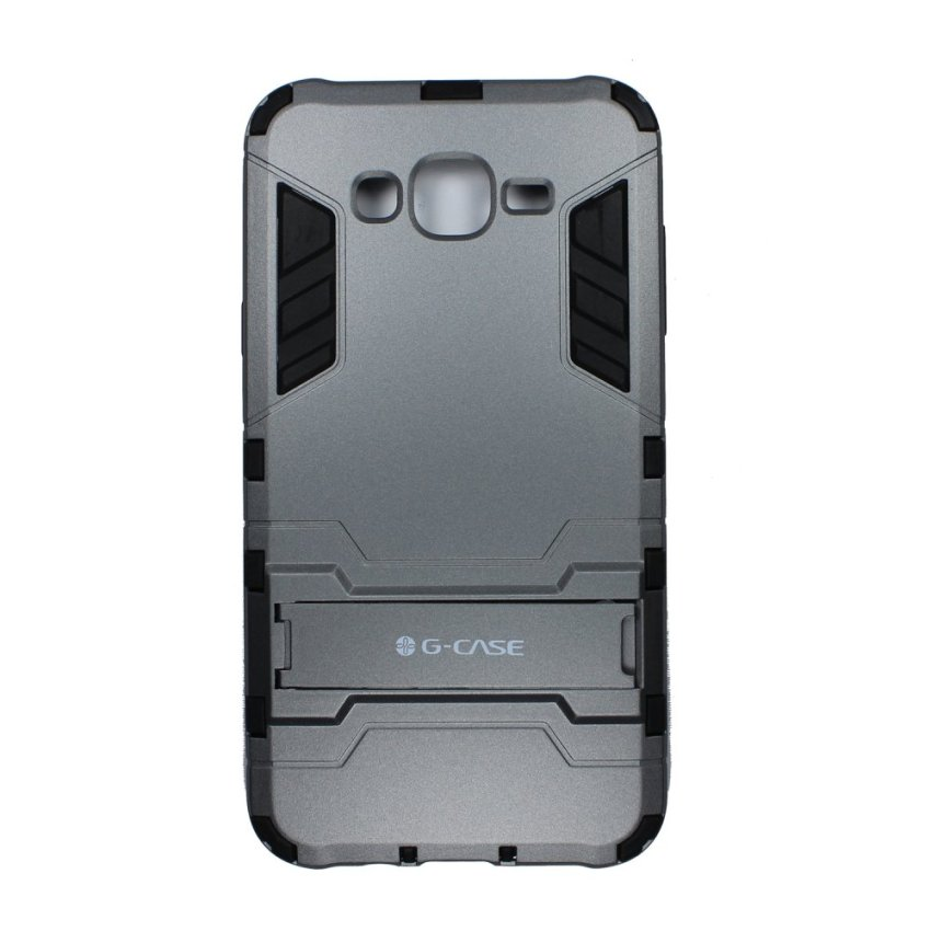 G-Case Stylish Protection With Standing For Samsung J5 - Grey - Abu