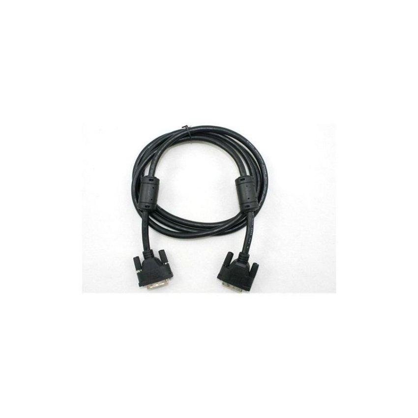 Generic 1.5m DVI 24+1 DVI D Male to Male M/M Video Cable (Black)