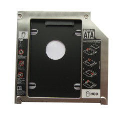 Generic 2nd Hdd Sdd Hard Drive Caddy For Apple Macbook Pro Mb991lla MC226lla MC371lla MC372lla- Intl