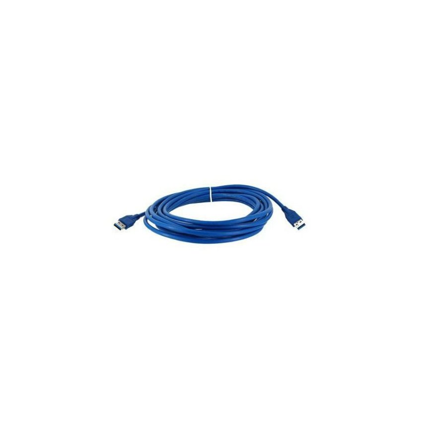 Generic 5m USB 3.0 A Male to A Male Data Extension Cable (Blue)