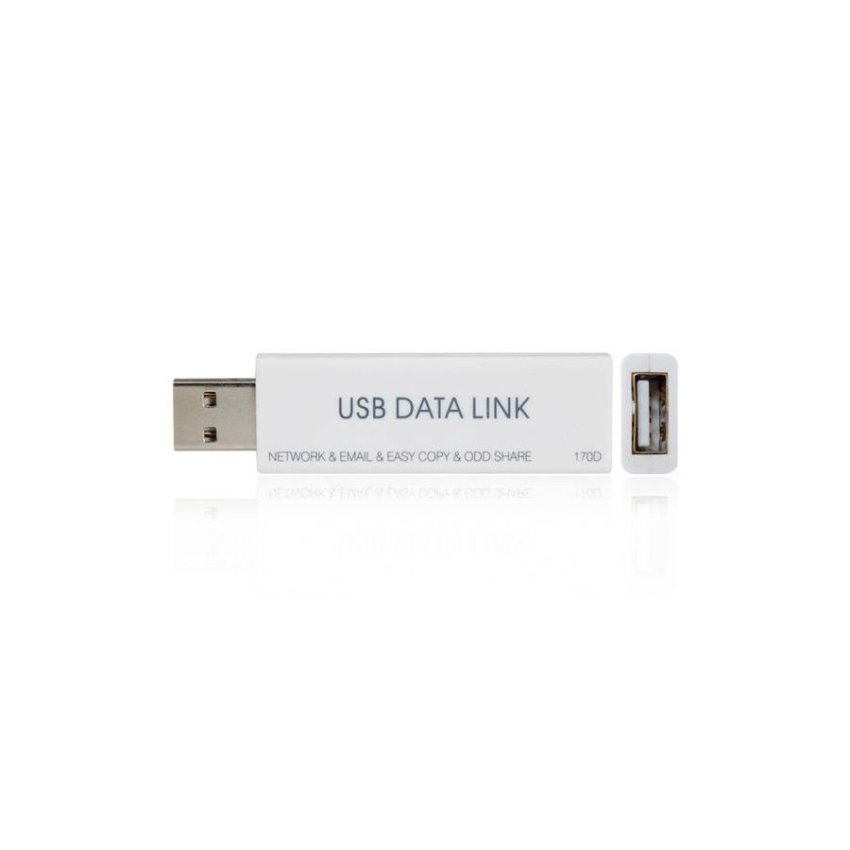 Generic High Speed USB 2.0 Data Link Data Transmission Share (White)