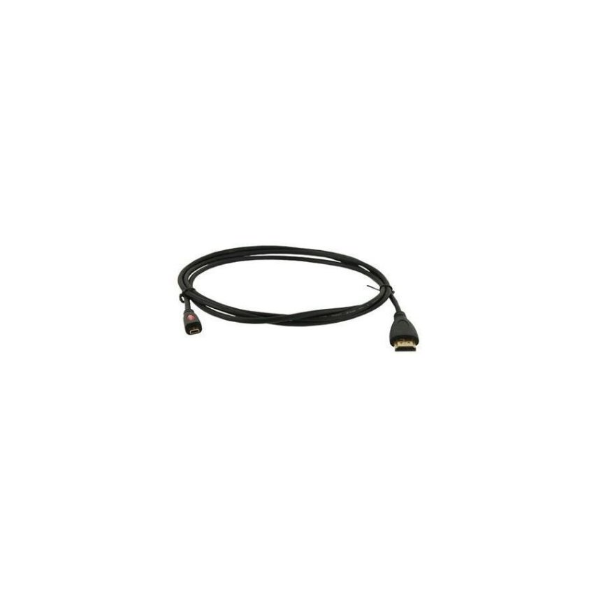 Generic Micro HDMI to HDMI M/M Extension Cable 1.8m Length (Black)
