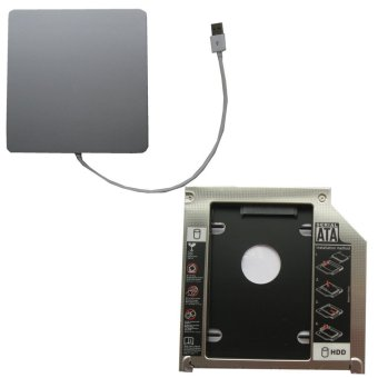 Generic USB Superdrive Enclosure And Second Hdd Caddy 2nd Hdd Ssd Apple Macbook Mb466ll / A Mb467ll / A