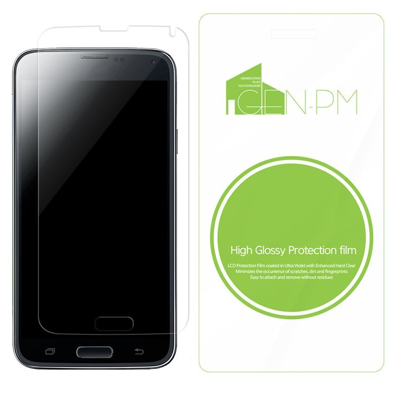 GENPM High Glossy HP Slate6 VoiceTab II Phone Screen Protector LCD Guard Protection Film 2pcs
