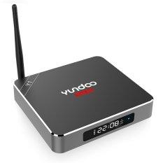 GETEK YUNDOO Android 6.0 S912 Quad Core HD 8.2G / 16G KODI WIFI Fully Loaded Smart TV Box (Black)