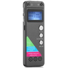 GH - 500 8GB LCD Display Digital Voice Recorder ( Dictaphone ) / MP3 Player for Meeting Conference