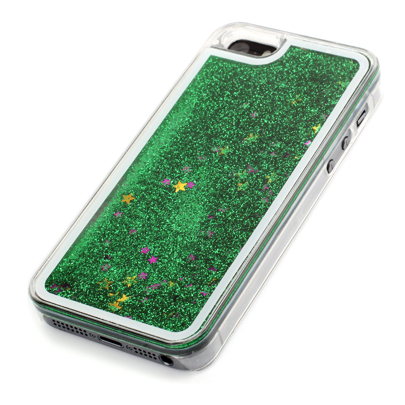 Glitter Stars Dynamic Liquid Quicksand Hard Back Case for iPhone 6plus/6s plus Multicolor (Intl)