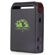 GPS Tracking Global Smallest Device GSM / GPRS / GPS Tracker - TK102B - Black