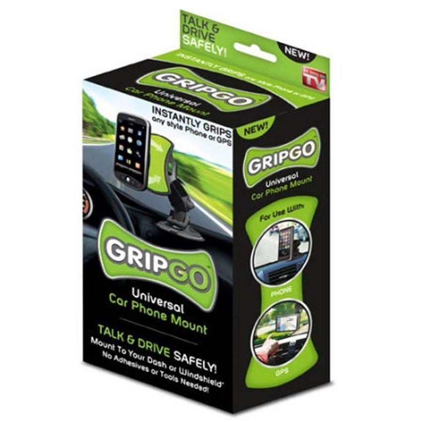 GripGo Universal Car Phone Mount - Hitam