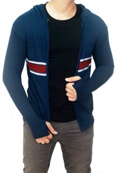 Gudang Fashion Baju Hangat Untuk Pria Biru Dongker Lazada Indonesia