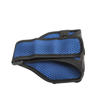 Gym Running Sport Armband Case Cover For IPhone 5 Mesh Arm Band Blue New