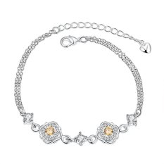 H003-A Hot Sales New Fashion Jewelry Bracelet Silver Bracelet - Intl