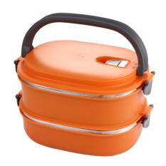 HAOFEI Insulated Lunch Box Food Storage (Orange) - INTL