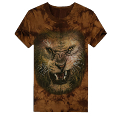 HAOFEI Mens Cotton T-shirt